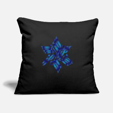 Calm Star of David Jew or reformer gift - Pillowcase 17,3'' x 17,3'' (45 x 45 cm)