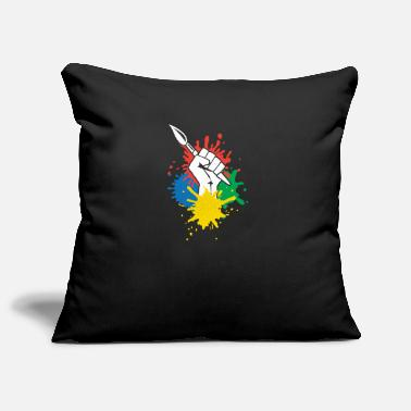 Smart tees 0001 Vector Smart ObjectThe power of art clen - Pillowcase 17,3'' x 17,3'' (45 x 45 cm)