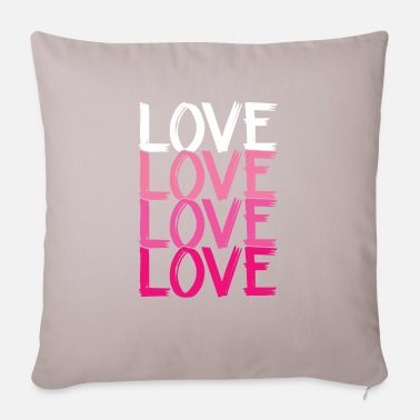 Loves Love Love Love Love - Pillowcase 17,3'' x 17,3'' (45 x 45 cm)