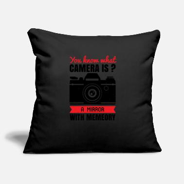 Photographie You know what camera is - Housse de coussin