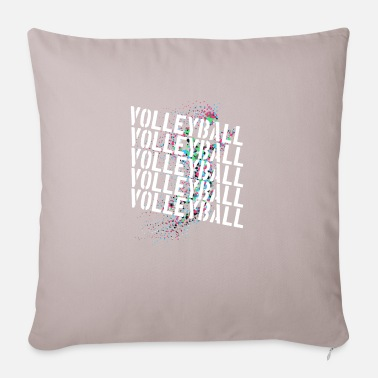 Volleyball Player Volleyball players Beach volleyball players volleyball - Pillowcase 17,3'' x 17,3'' (45 x 45 cm)