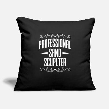 Sand Professional Sand Sculpter sand sculptures sand castle - Pillowcase 17,3'' x 17,3'' (45 x 45 cm)