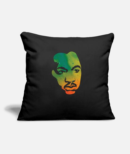 Black Power Pillow Cases - Martin Luther dream say gift - Pillowcase 17,3'' x 17,3'' (45 x 45 cm) black