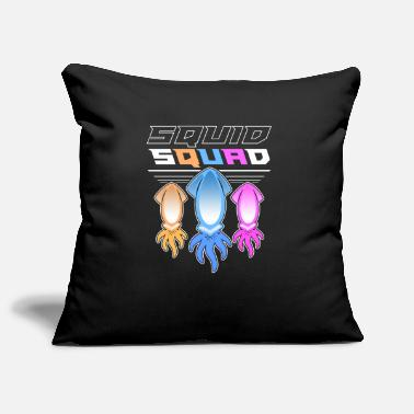 Hilarious The Mighty Squid Squad Octopus Gang Gift Design - Pillowcase 17,3'' x 17,3'' (45 x 45 cm)