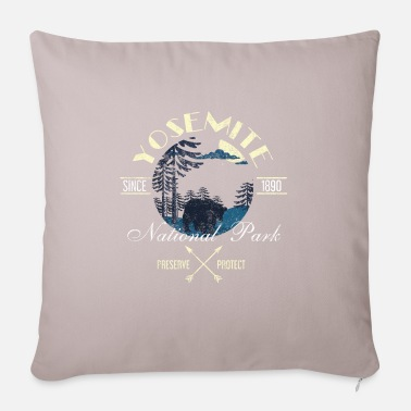Helped Dome Preserve Protect Yosemite National Park - Pillowcase 17,3'' x 17,3'' (45 x 45 cm)