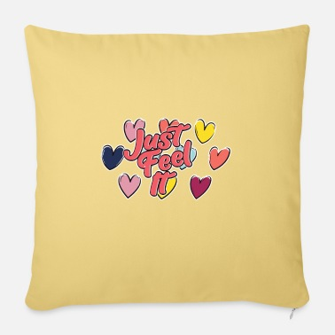 Mate Love, hearts and feelings - Pillowcase 17,3'' x 17,3'' (45 x 45 cm)