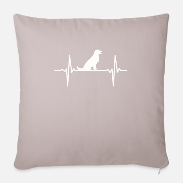 Retriever Heartbeat Labrador Retriever Golden Retriever - Funda de cojín