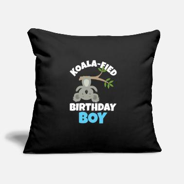 Eucalyptus Koalafied Birthday Boy Koala Birthday Party Gift - Pillowcase 17,3'' x 17,3'' (45 x 45 cm)