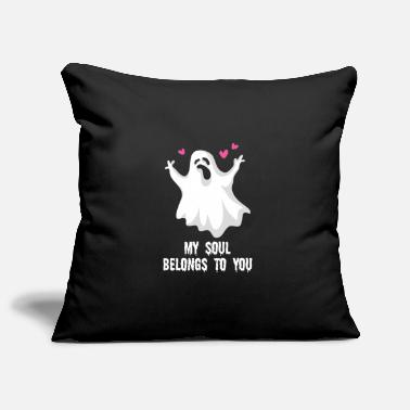 Ghost Halloween My Soul Belongs To You Matching Ghost - Pillowcase 17,3'' x 17,3'' (45 x 45 cm)