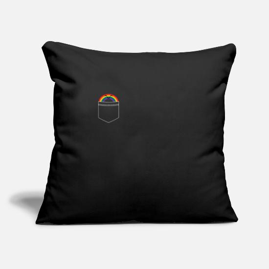 Lgbt Pillow Cases - lgbt - Pillowcase 17,3'' x 17,3'' (45 x 45 cm) black