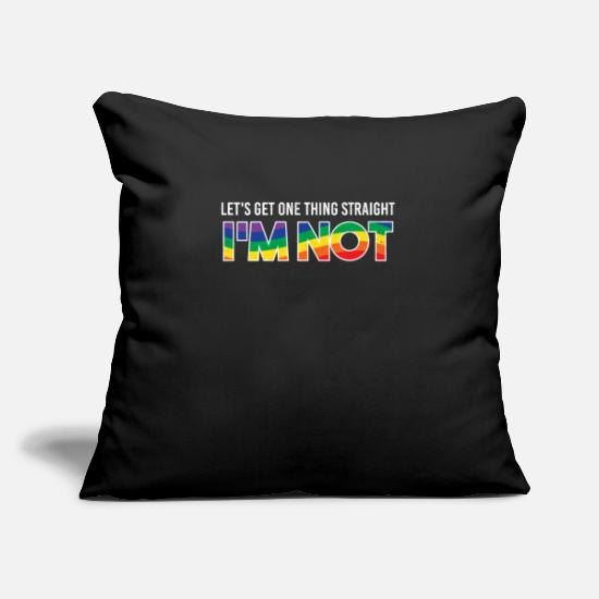 Love Pillow Cases - lgbt - Pillowcase 17,3'' x 17,3'' (45 x 45 cm) black