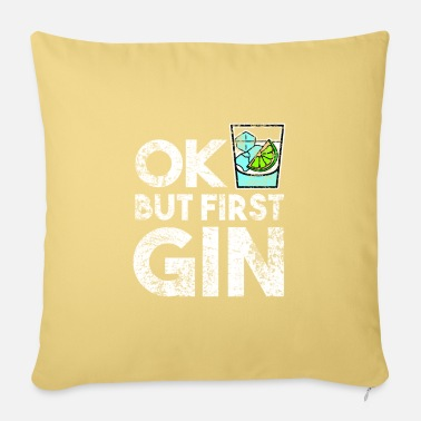 Long Drinks Gin long drink - Pillowcase 17,3'' x 17,3'' (45 x 45 cm)