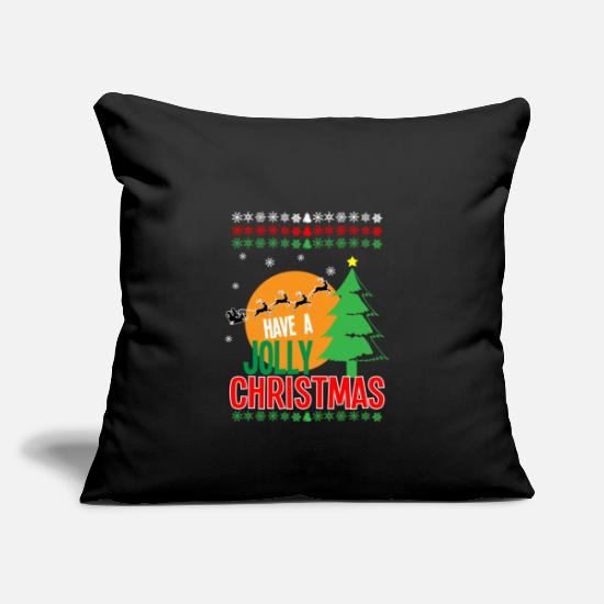 Love Pillow Cases - Xmas Christmas Christmas gift gift new cheap - Pillowcase 17,3'' x 17,3'' (45 x 45 cm) black