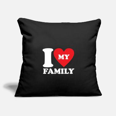 Family Values Love Family Family values Family Gift Idea - Pillowcase 17,3'' x 17,3'' (45 x 45 cm)