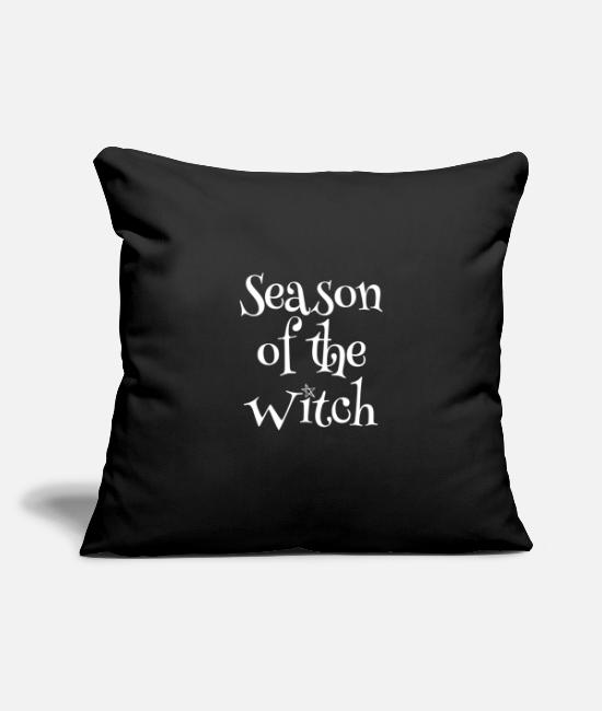 Witchcraft Pillow Cases - Season of the Witch - Pillowcase 17,3'' x 17,3'' (45 x 45 cm) black