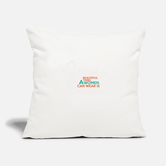 Birthday Pillow Cases - self-confidence - Pillowcase 17,3'' x 17,3'' (45 x 45 cm) natural white