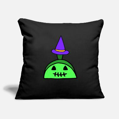 Limpio What It Is Muesca Zombie Witch Halloween Gift Idea - Funda de cojín, 44 x 44 cm