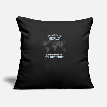 Source I Need The Source Code - Pillowcase 17,3'' x 17,3'' (45 x 45 cm)