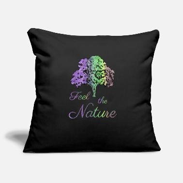 Feeling Feel the Nature - Feel the nature - Pillowcase 17,3'' x 17,3'' (45 x 45 cm)