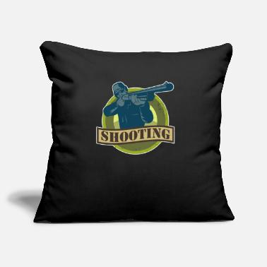 Shoot Target Shooting Shooting Sport Shooting - Pillowcase 17,3'' x 17,3'' (45 x 45 cm)
