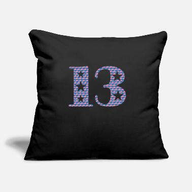 Lucky Number Lucky number 13 - Pillowcase 17,3'' x 17,3'' (45 x 45 cm)