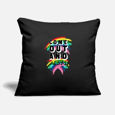 Coming Out Come Out And Party! - Pillowcase 17,3'' x 17,3'' (45 x 45 cm)