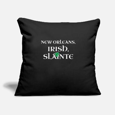 New Orleans Saints New Orleans Irish Gift | St Patricks Day Gift for - Pillowcase 17,3'' x 17,3'' (45 x 45 cm)