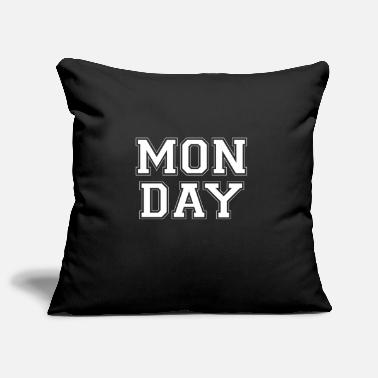 Monday Monday monday - Pillowcase 17,3'' x 17,3'' (45 x 45 cm)