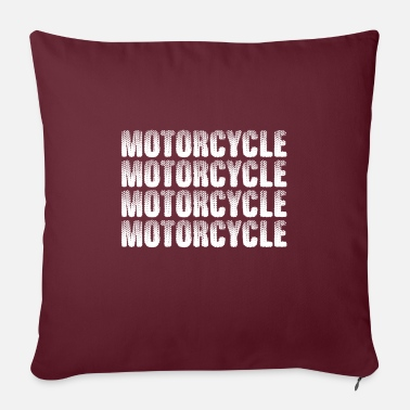 Motorcycle Motorcycle hobby cool gift - Pillowcase 17,3'' x 17,3'' (45 x 45 cm)
