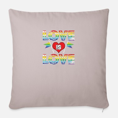 Loves Love Is Love - Pillowcase 17,3'' x 17,3'' (45 x 45 cm)