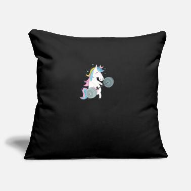 Gym Funny Unicorn Gym - Pillowcase 17,3'' x 17,3'' (45 x 45 cm)