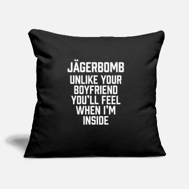 Jagerbomb Unlike Your Boyfriend - Pillowcase 17,3'' x 17,3'' (45 x 45 cm)