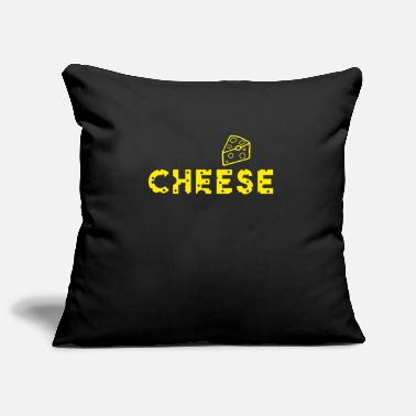 Cheese cheese cheese - Pillowcase 17,3'' x 17,3'' (45 x 45 cm)