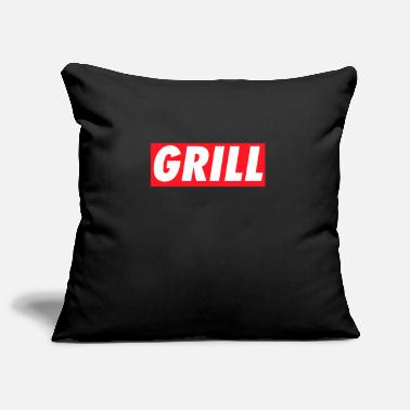 Grilling Grill #Grill - Pillowcase 17,3'' x 17,3'' (45 x 45 cm)