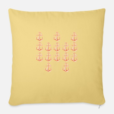 Ancre Marin ancre ancre - Housse de coussin