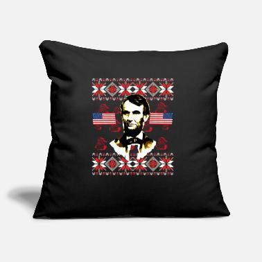 USA America Lincoln United States Christmas - Pillowcase 17,3'' x 17,3'' (45 x 45 cm)