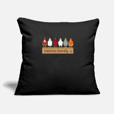 Gift for Chicken Lovers | Funny Celebrate - Pillowcase 17,3'' x 17,3'' (45 x 45 cm)