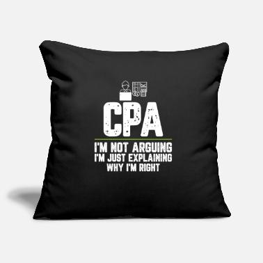 Quote CPA I'm Not Arguing I'm Just Explaining Why I'm - Pillowcase 17,3'' x 17,3'' (45 x 45 cm)