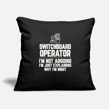 Office Switchboard operator I'm Not Arguing I'm Just - Pillowcase 17,3'' x 17,3'' (45 x 45 cm)