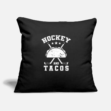 Sports Hockey and Tacos - Pillowcase 17,3'' x 17,3'' (45 x 45 cm)