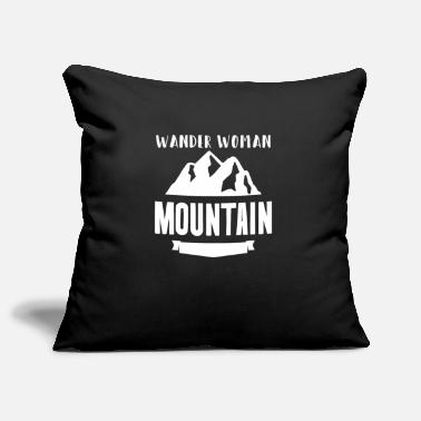 Andare A Sciare Wander Woman Mountains Ladies Hiking - Copricuscino