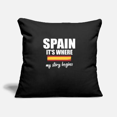 Barcelona Spain Where my story begins - Pillowcase 17,3'' x 17,3'' (45 x 45 cm)