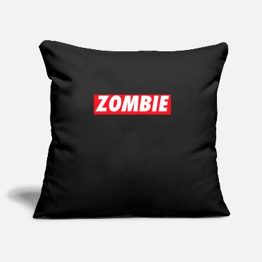 Logo Zombies Zombie Logo Halloween - Pillowcase 17,3'' x 17,3'' (45 x 45 cm)