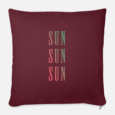 Sun Sun Sun Sun. - Pillowcase 17,3'' x 17,3'' (45 x 45 cm)