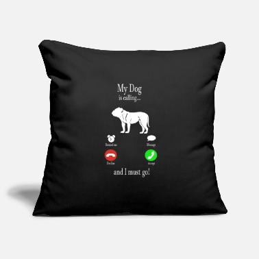 Dg My Dg Is Calling ... And I Must Go! gift - Pillowcase 17,3'' x 17,3'' (45 x 45 cm)