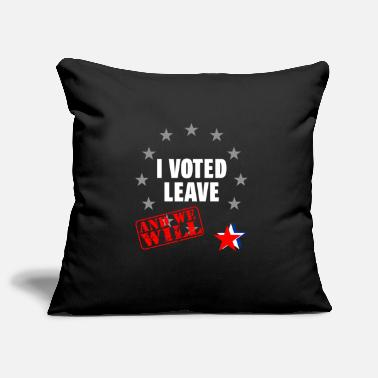 Pro Eu Pro Brexit Anti EU Leave Campaign Gift - Pillowcase 17,3'' x 17,3'' (45 x 45 cm)
