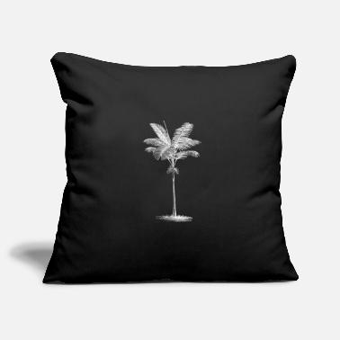 Palm Palm tree palm - Pillowcase 17,3'' x 17,3'' (45 x 45 cm)