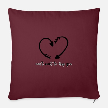 Motorcycle love - Pillowcase 17,3'' x 17,3'' (45 x 45 cm)