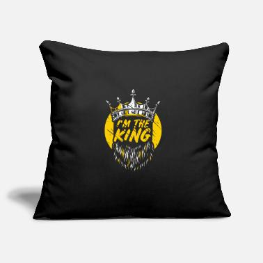 Ludwig I'm the King Design for a man who likes to be a king - Pillowcase 17,3'' x 17,3'' (45 x 45 cm)