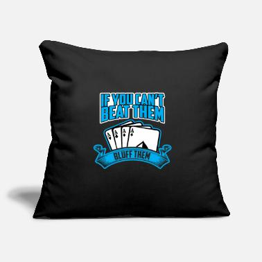 Bluff Bluff them - Pillowcase 17,3'' x 17,3'' (45 x 45 cm)